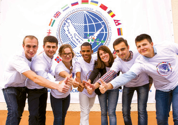 Participants of Youth for Peace law Olympiad