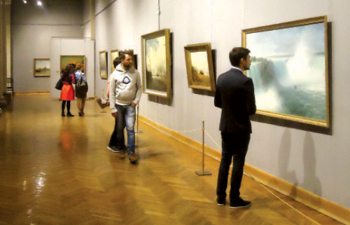 Exhibition of 19th century academic paintings from National Art Museum of Belarus