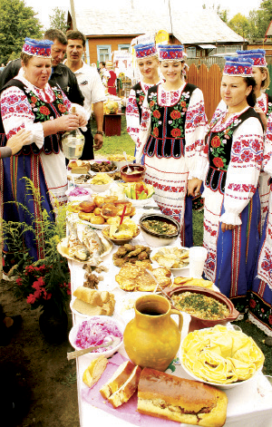 Motol Delicacies culinary festival in Ivanovo District